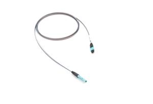 01x MTP – 01x MXC PLUG 48F OM3 páskový optický kábel