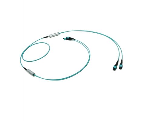 2x24f MTP to 2x24f MTP 48-fiber Duralino trunk cable
