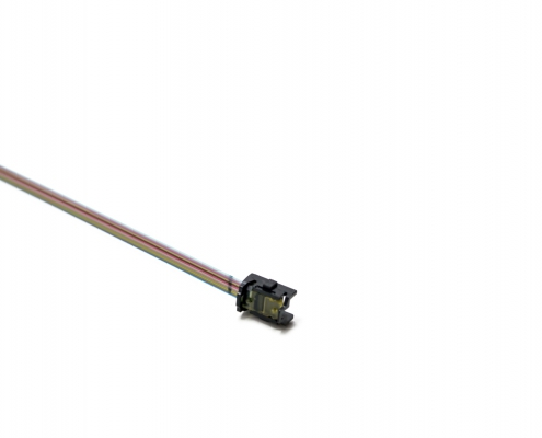 2xPRIZM LT-MTP 24F short OM3 bare ribbon assembly