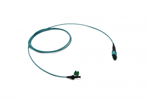 PRIZM LT-MTP OM3 round cable assembly