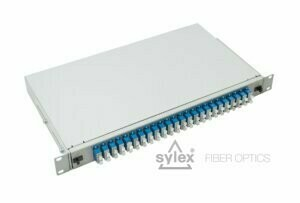 SC patch panel – with adapters
