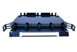VERTEX 1U 19″ High-density panel, 12-module capacity